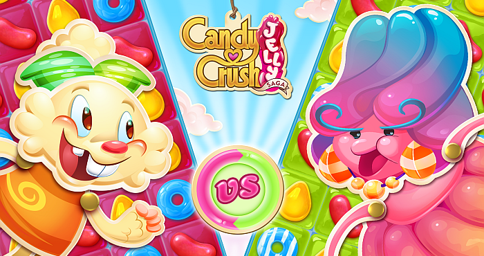 Beating the Tricks of the Candy Crush Jelly Saga